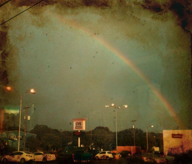 Old rainbow